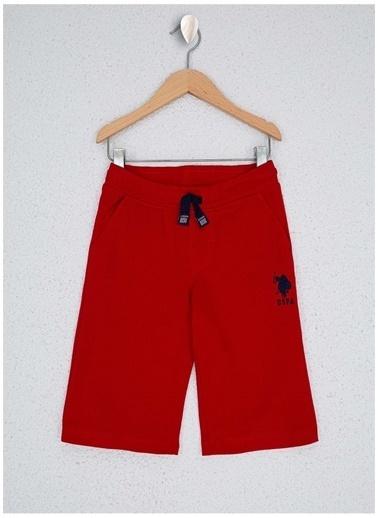 U.S. Polo Assn. U.S. Polo Assn. Erkek Çocuk Kırmızı Şort Kırmızı